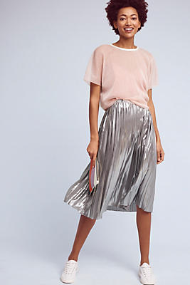 Slide View: 1: Daphne Pleated Skirt