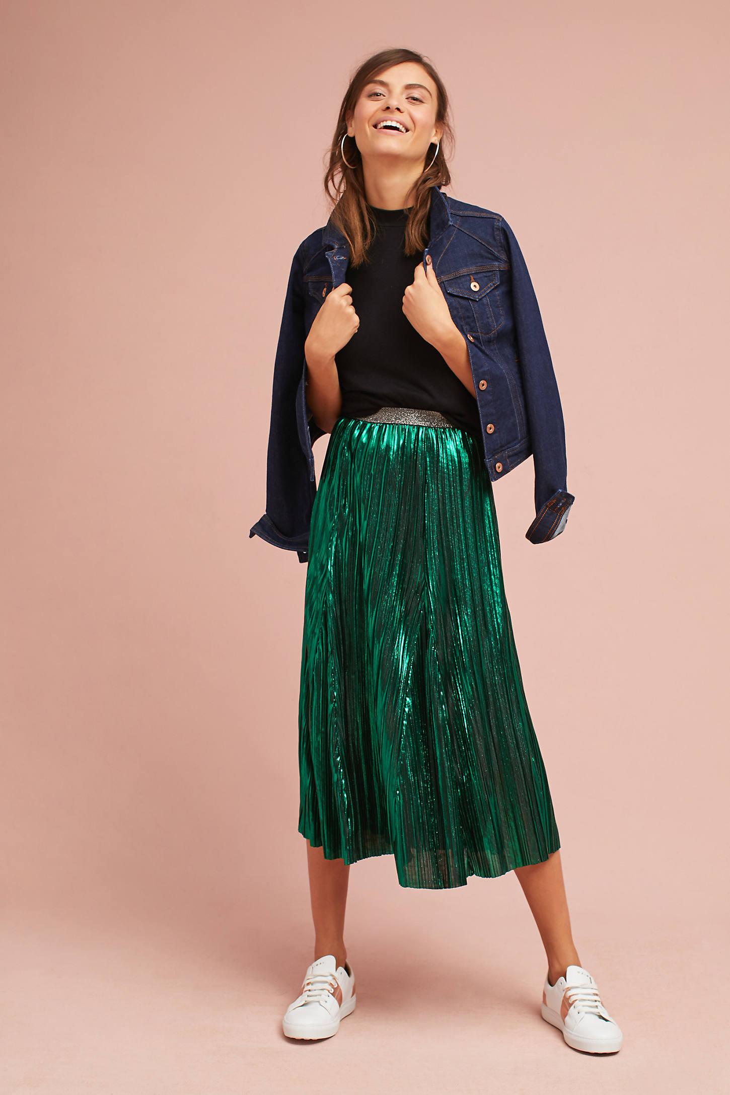 Nightingale Metallic Skirt