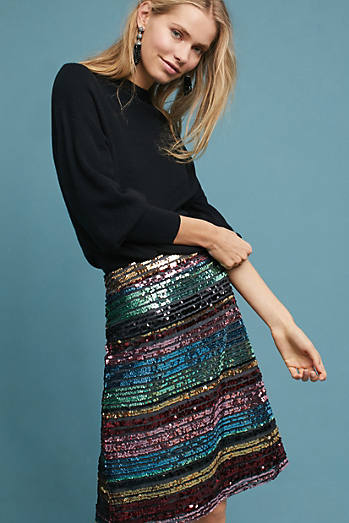 Sequined Soiree Skirt