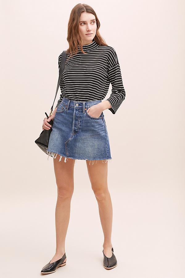 Levi's Denim Skirt - Blue, Size 27