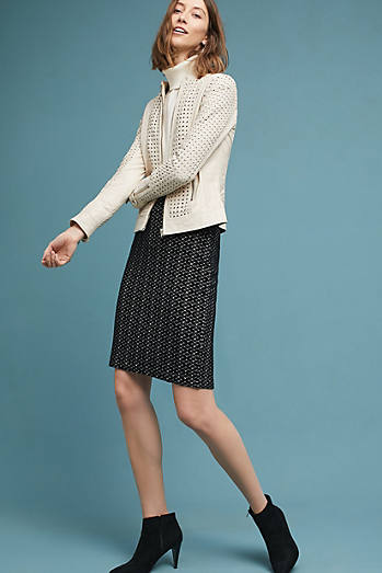 Samantha Knit Pencil Skirt