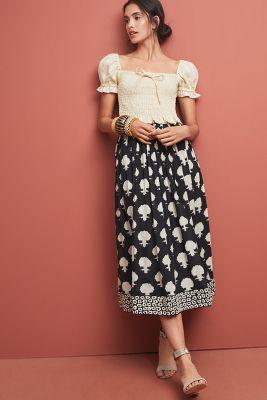 fa0112f5f6b Mara Hoffman Tulay Floral Skirt