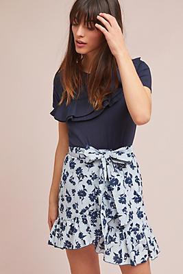 Slide View: 1: Tuileries Wrap Skirt