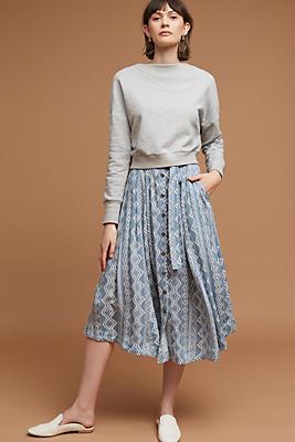 Slide View: 4: Brigida Midi Skirt