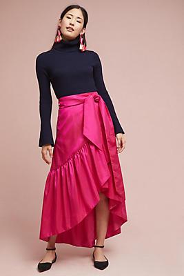 Slide View: 1: Melody Ruffled Skirt