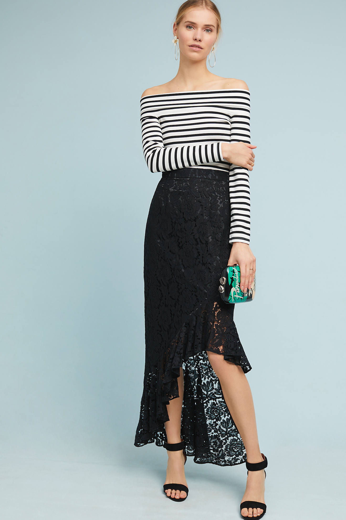 Showstopper Lace Skirt