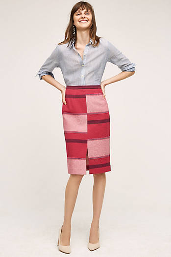 Catteau Pencil Skirt
