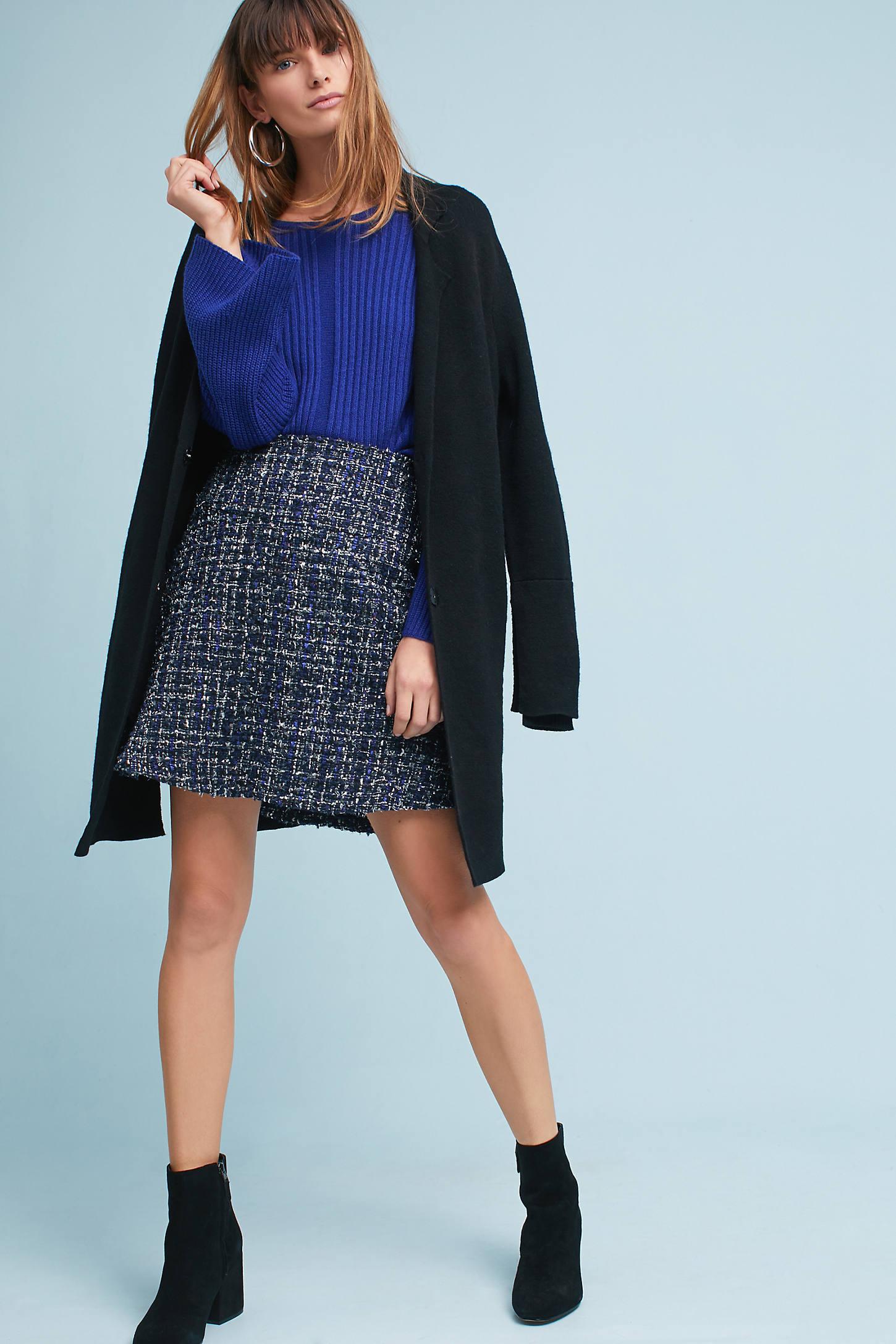 Twiggy Tweed Skirt