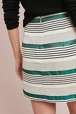 rugby striped skirt
