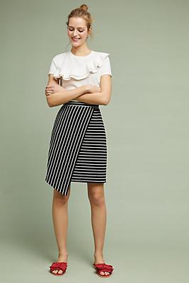 Slide View: 1: Chauncey Wrap Skirt
