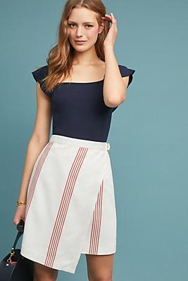Slide View: 1: Rori Wrapped Pencil Skirt