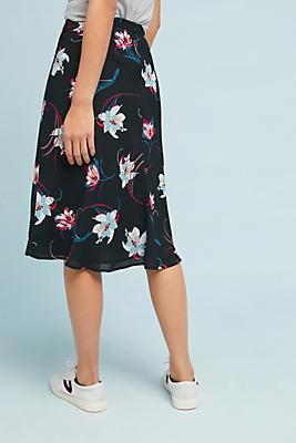 lilium ruffled skirt