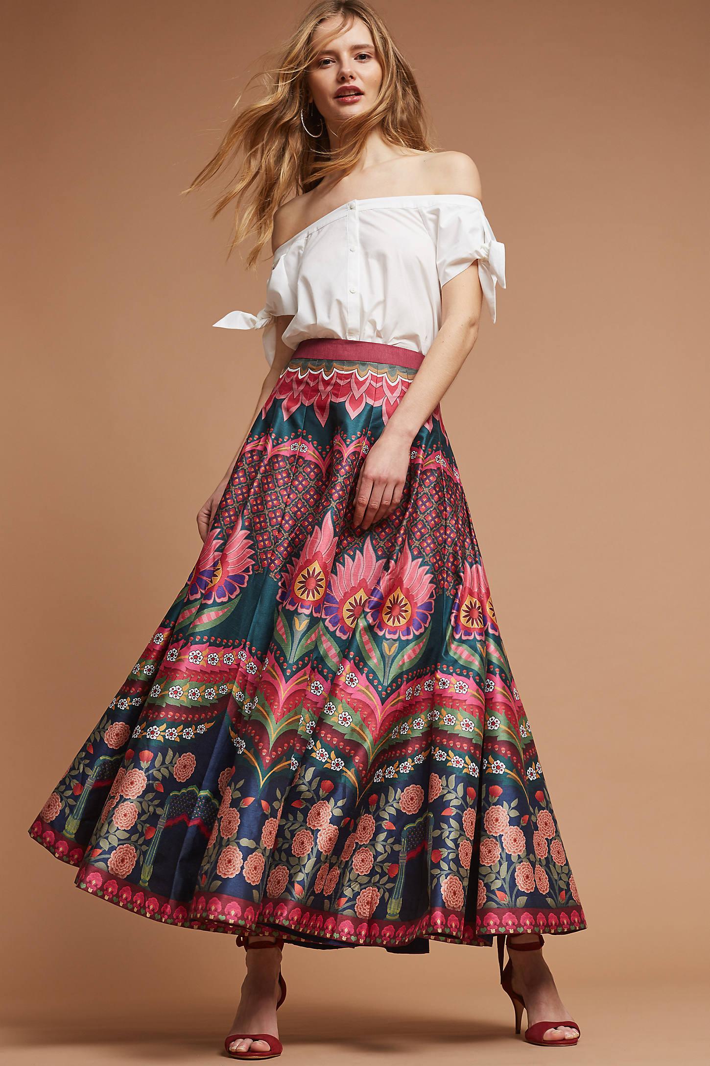 Austrella Maxi Skirt