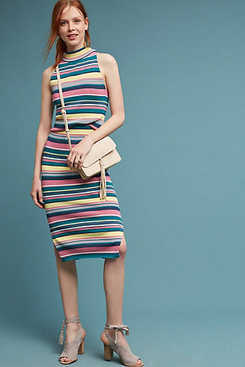 Iana Striped Skirt