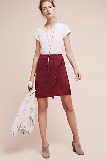 Fringed Arnhem Sweater Skirt