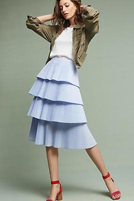 Slide View: 2: Vienna Tiered Skirt