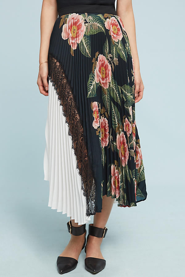 Slide View: 2: Clea Pleated Skirt