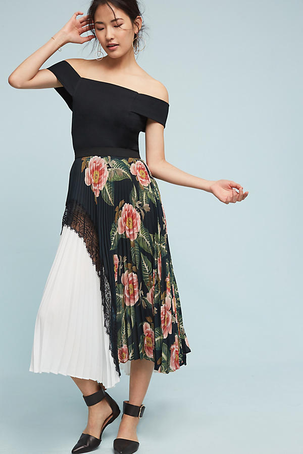 Slide View: 4: Clea Pleated Skirt