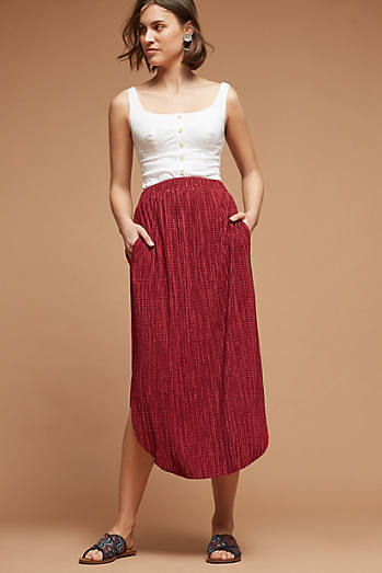 Odelle Textured Skirt