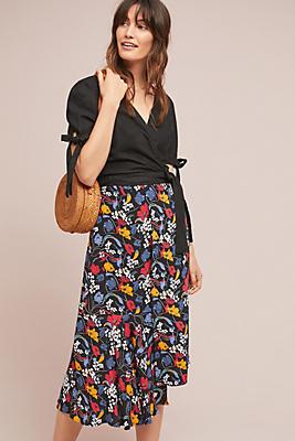 Slide View: 1: Capistra Printed Skirt