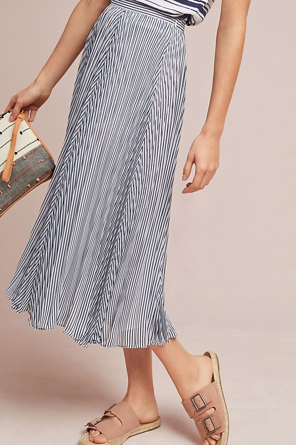 Slide View: 1: Barnett Striped Skirt
