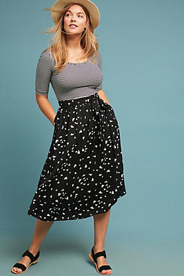 Slide View: 1: Staycation Printed Skirt