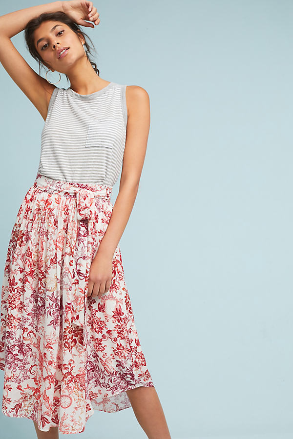 Staycation Printed Skirt - Assorted, Size L