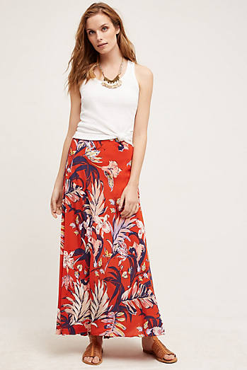 Paso Robles Silk Skirt