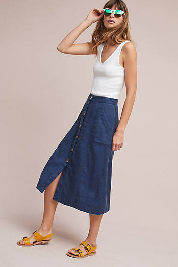 Riverine Midi Skirt