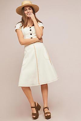 Slide View: 1: Parkland Denim Skirt