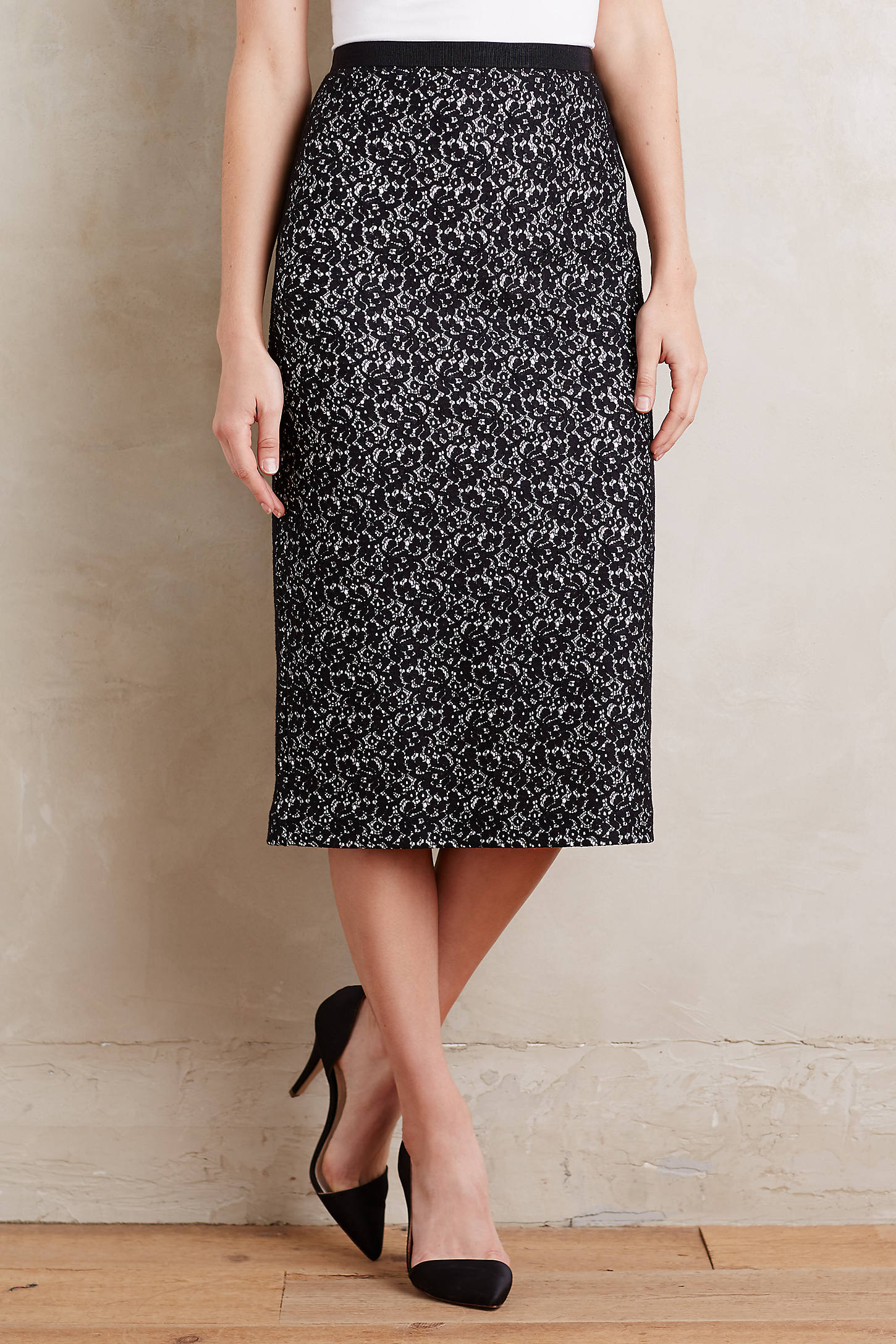 Beatrice Lace Skirt