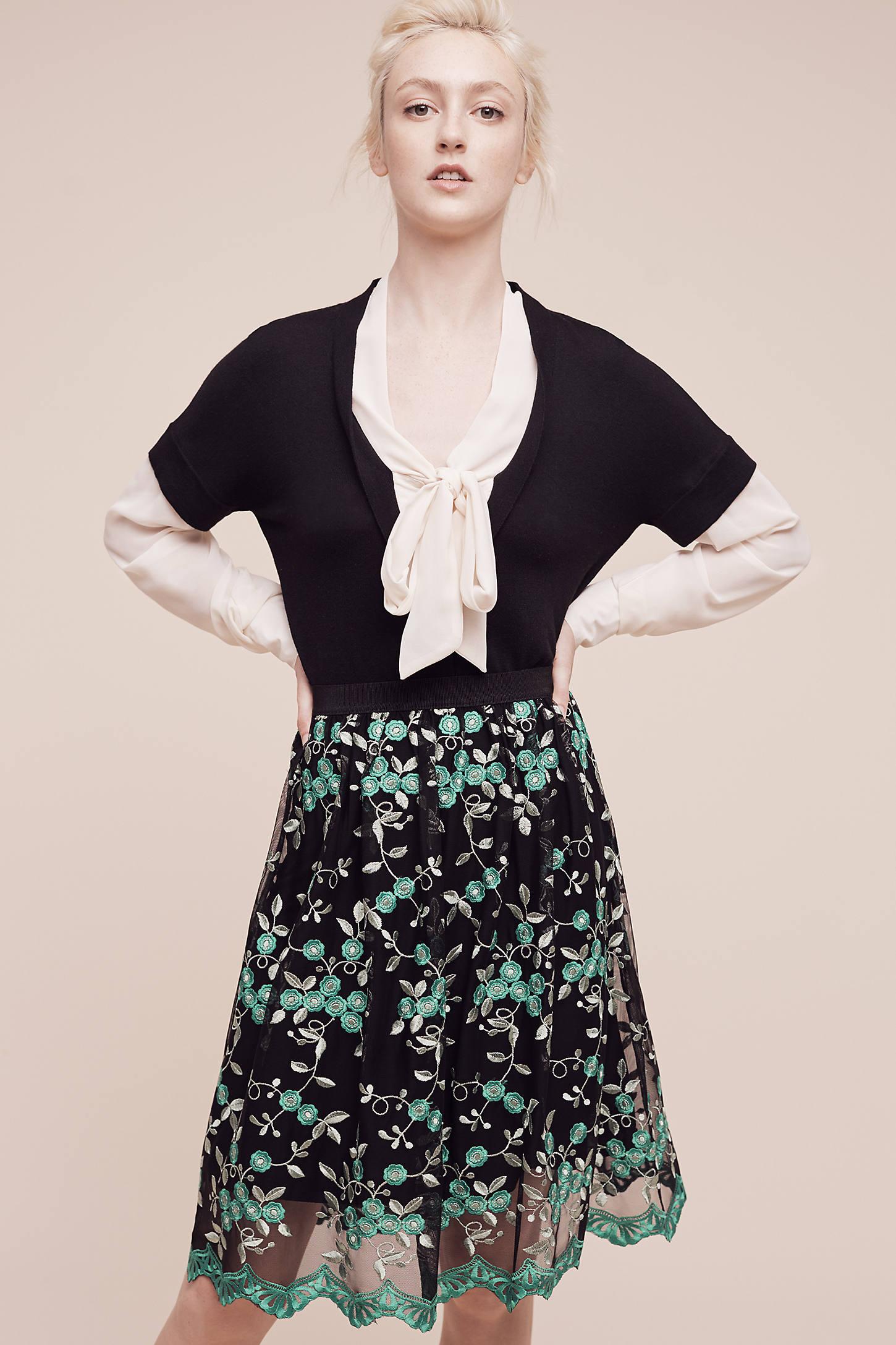 Greenery Lace Skirt