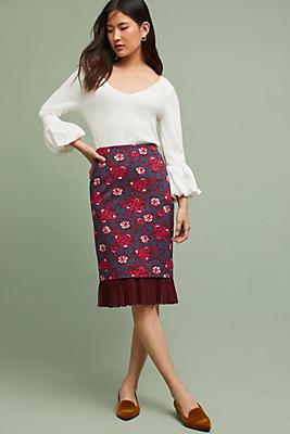 Slide View: 1: Nico Pencil Skirt