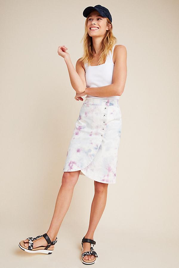 Kimmie Tie-Dyed Tulip Skirt