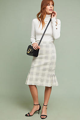 Slide View: 1: Flounced Menswear Skirt