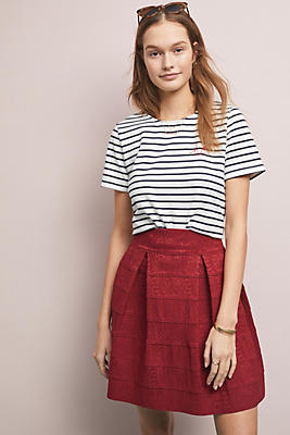 Slide View: 1: Scholastic Structured Skirt