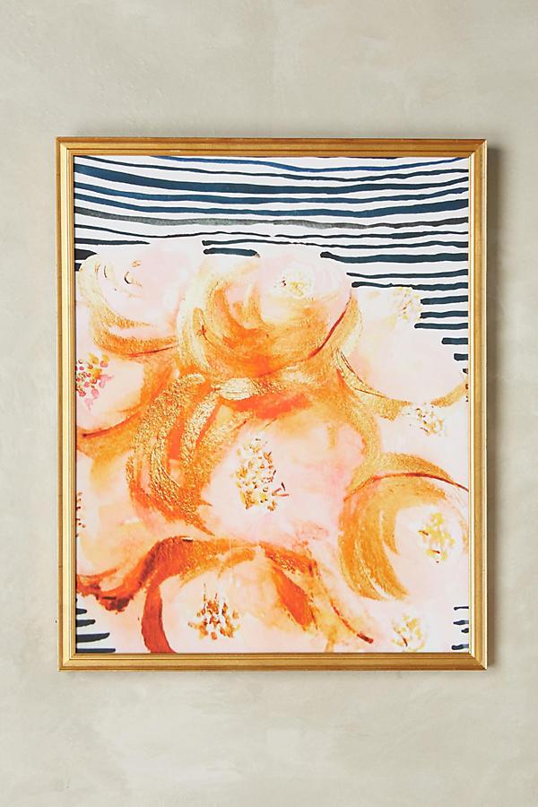 Slide View: 1: Flowers Wall Art