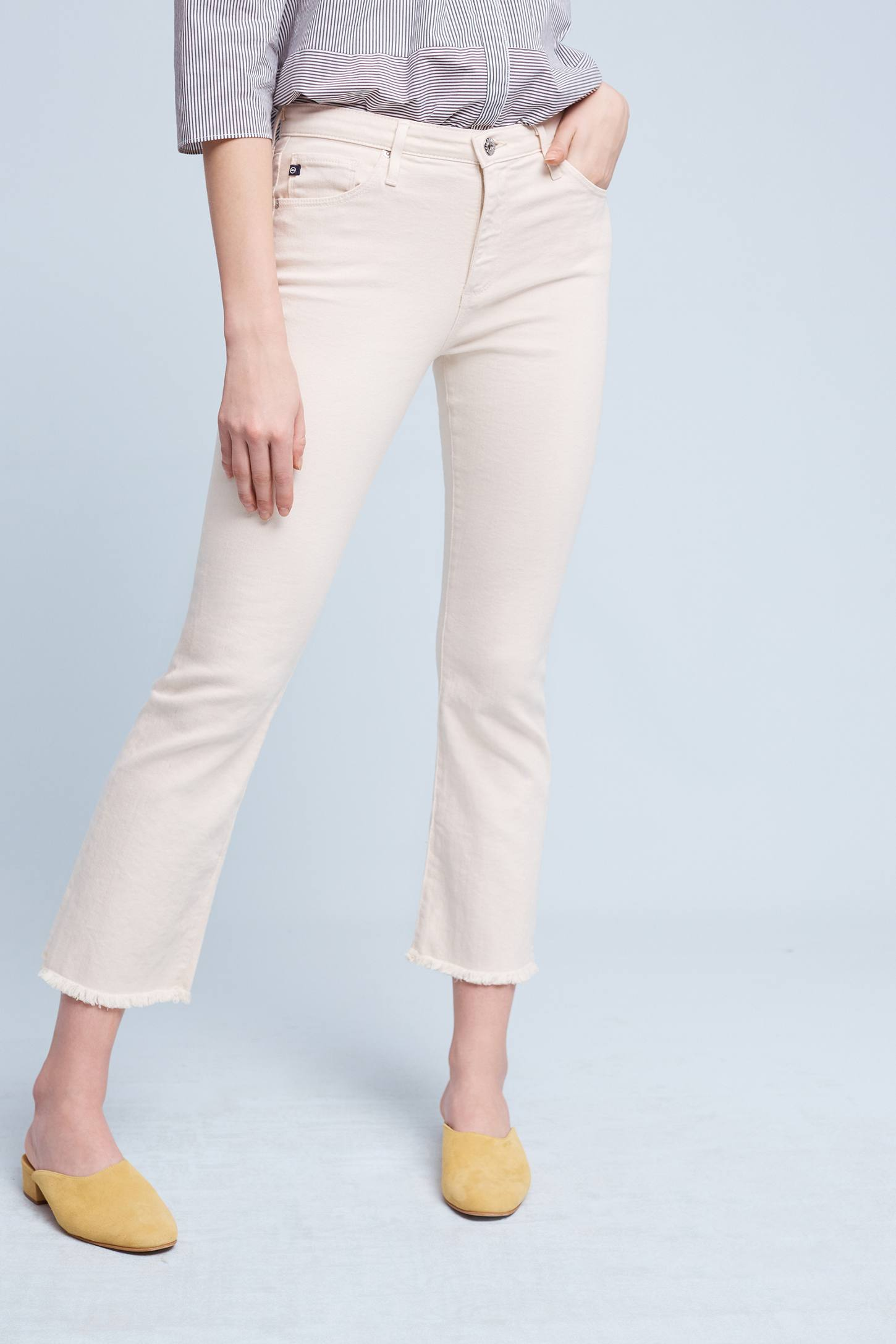 AG Jodi High-Rise Kick-Flare Jeans | Anthropologie