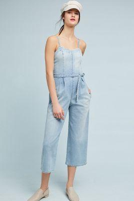 AG Jeans   AG Giselle Denim Jumpsuit  -    DENIM LIGHT