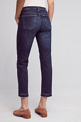 AG The Stevie Mid-Rise Skinny Cropped Jeans | Anthropologie