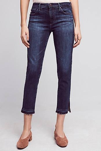 AG Stevie Mid-Rise Crop Jeans