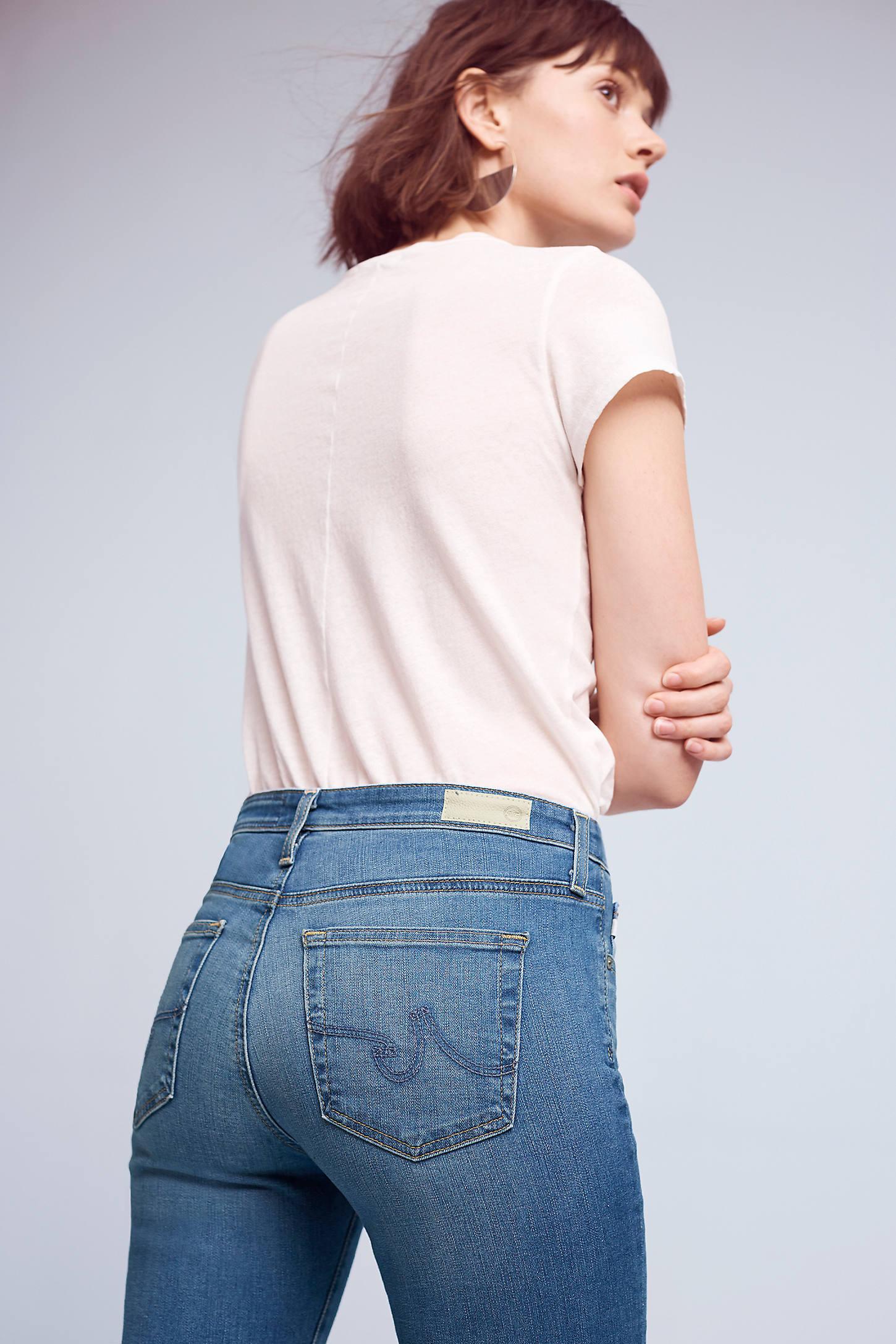 AG Prima Mid-Rise Skinny Jeans