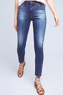Sale alerts for  AG Farrah High-Rise Skinny Jeans - Covvet
