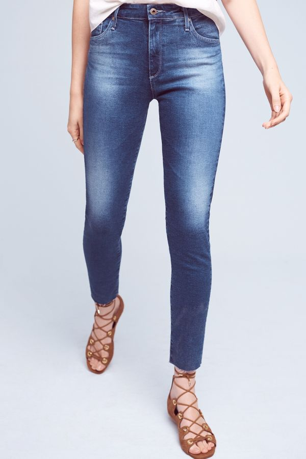 AG AG Farrah High-Rise Skinny Jeans