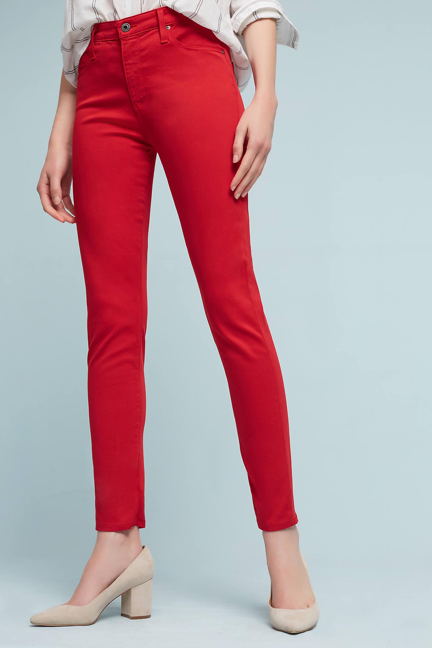 AG Farrah High-Rise Sateen Jeans