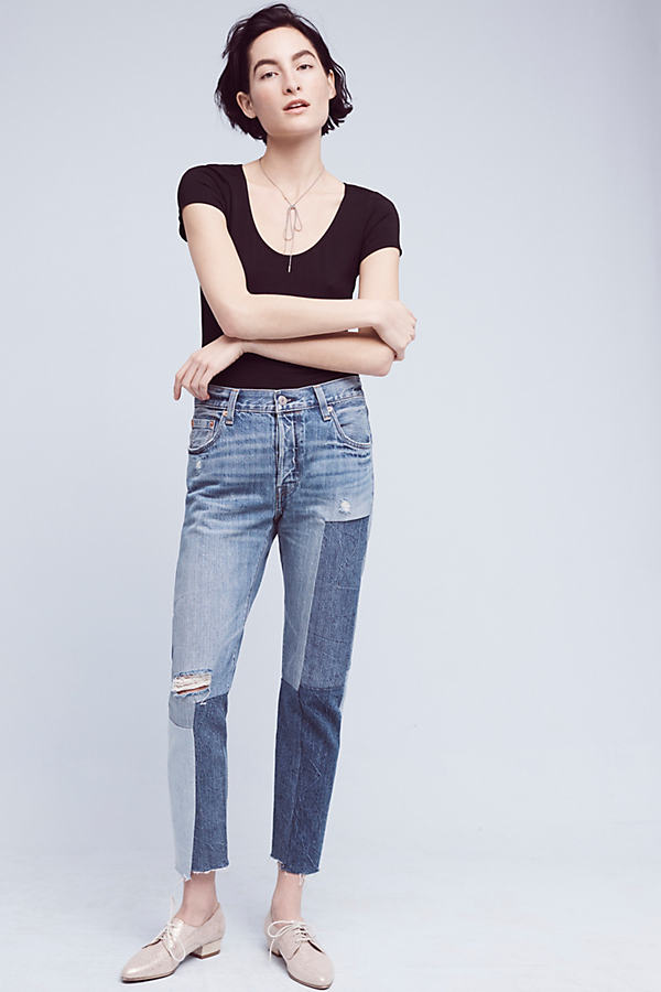 Levi's 501 Original High-Rise Jeans - Denim Dark, Size 30