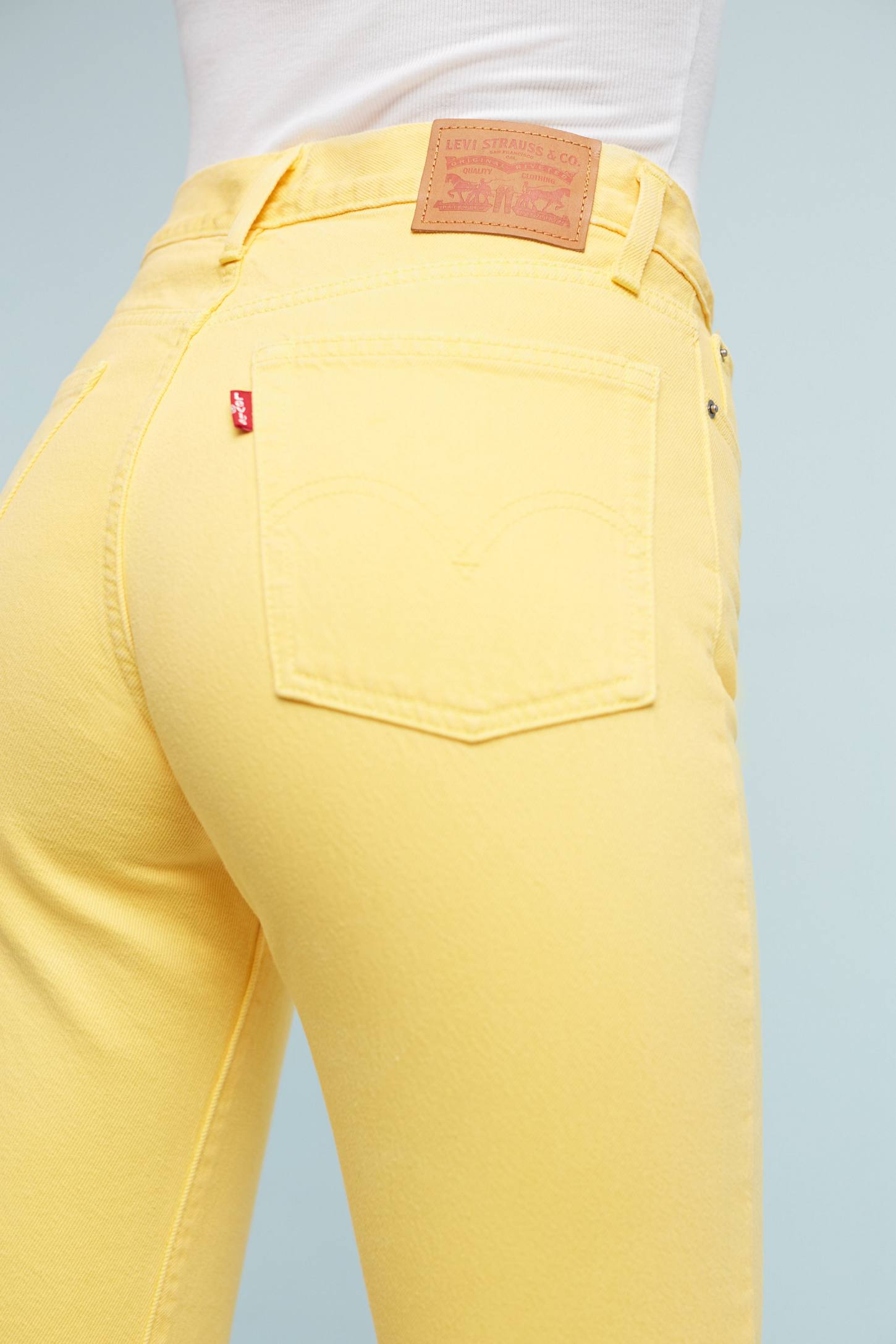 Slide View: 4: Levi's Wedgie Icon High-Rise Jeans