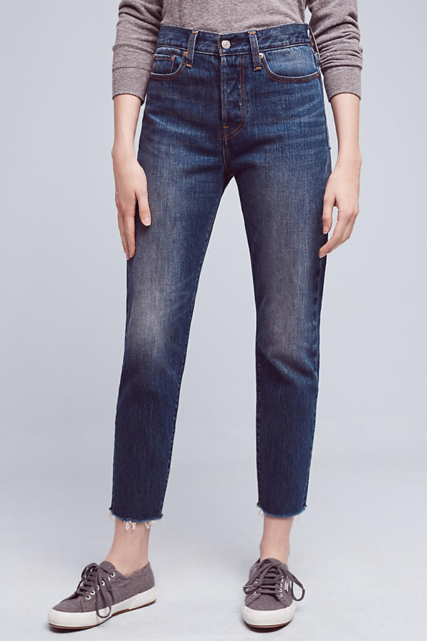 Slide View: 2: Levi's Wedgie Icon High-Rise Jeans