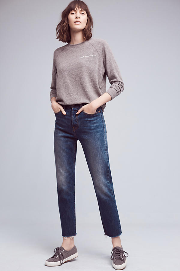 Slide View: 1: Levi's Wedgie Icon High-Rise Jeans