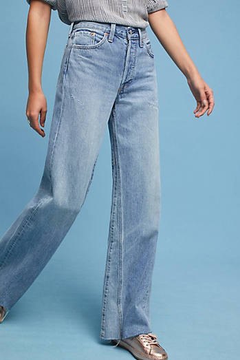 Levi's Altered Wide-Leg High-Rise Jeans